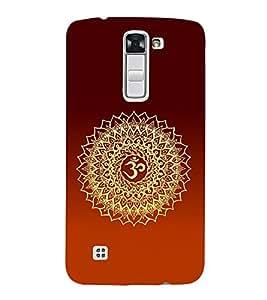 Om Mantra Hindu 3D Hard Polycarbonate Designer Back Case Cover for LG K10 4G Dual