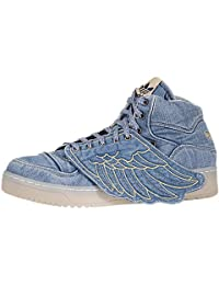 Adidas JS Wings Denim Mens Athletic Shoes V24621