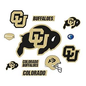 Buy NCAA Colorado Buffaloes Junior Logo Assortment Wall Graphic by Fathead