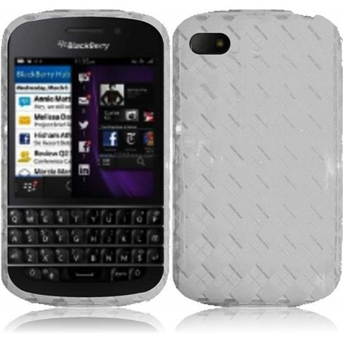 Hr Wireless Blackberry Q10 Tpu Protective Cover - Retail Packaging - Clear