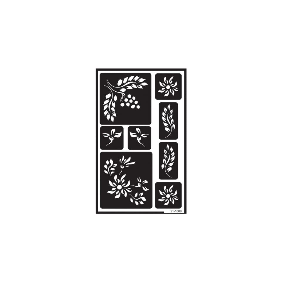 Over n Over Reusable Glass Etching Stencils 5X8 638472 on