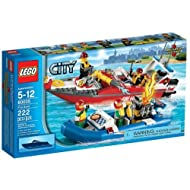 Lego City Fire Boat Building Sets