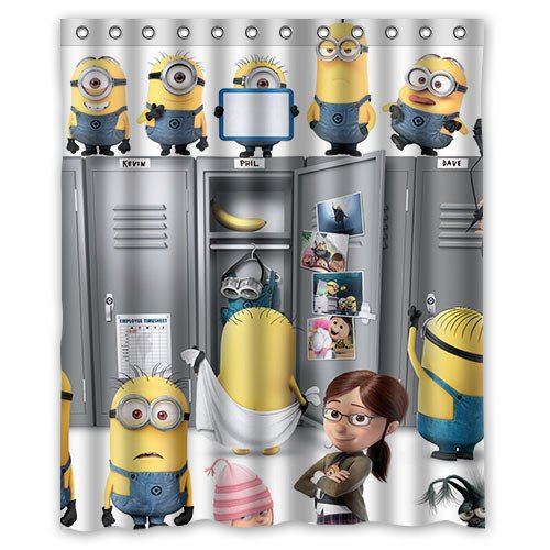 Best Minion Shower Curtains For Your Bathroom
