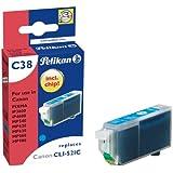 Pelikan Patrone C38 Tinte cyan PIXMA iP3600/4600, MP540/620/630/860/980