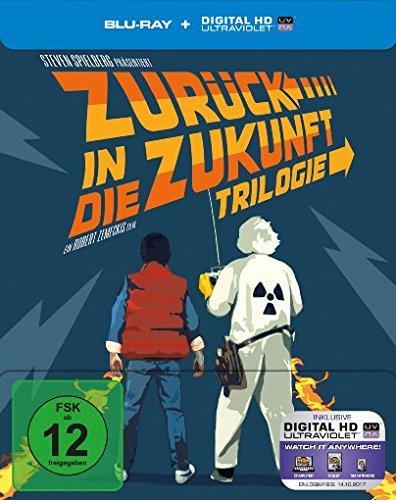 Zurück in die Zukunft - Trilogie/30th Anniversary [Blu-ray] [Limited Edition]