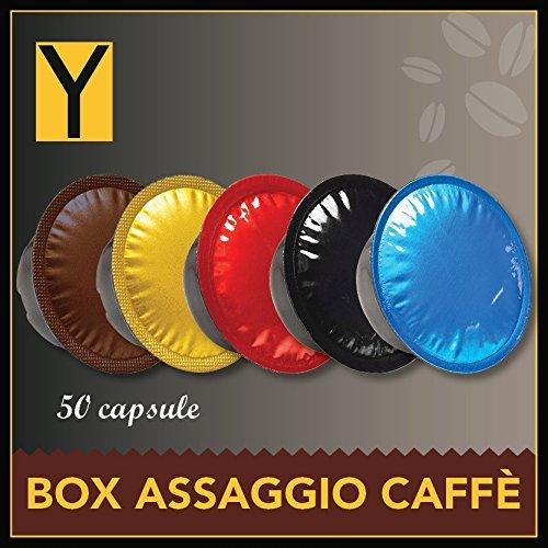 50 CAPSULE LAVAZZA A MODO MIO Box caffè 5 Miscele