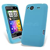 Celicious Sky Blue Soft Silicone Skin Case for HTC Salsa HTC Salsa Case Cover