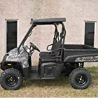Salient Designs SD624B Plastic Hard Top With Stereo And Light Kit For 2010-13 Polaris Ranger 800-XP-6X6; 2013 Ranger 500