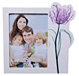 UberLyfe Purple Tulip Theme Photo Frame - 13cm x 18cm (PF-000421-PUTULIP)