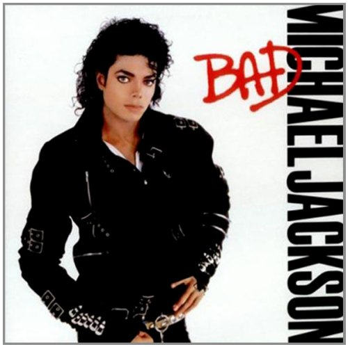 Original album cover of Bad by Michael Jackson