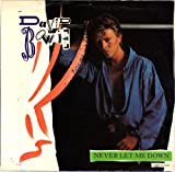 BOWIE, David/Never Let Me Down/45rpm record + picture sleeve