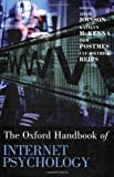 img - for Oxford Handbook of Internet Psychology (Oxford Library of Psychology) book / textbook / text book