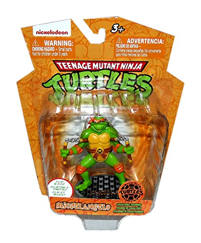 TEENAGE MUTANT NINJA TURTLES 3in MICHAELANGELO FIGURE CLIP - 1