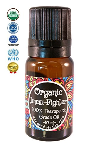 Organic Thieves Essential Oil - Immu-Fighter 10ml 100% Therapeutic Grade Essential Oil #1 Best Quality Organic Uncut Undiluted Aromatherapy Diffuse