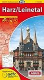 ADFC-Radtourenkarte 12 Harz /Leinetal 1:150.000, reiß- und wetterfest, GPS-Tracks Download und Online-Begleitheft (ADFC-Radtourenkarte 1:150000)