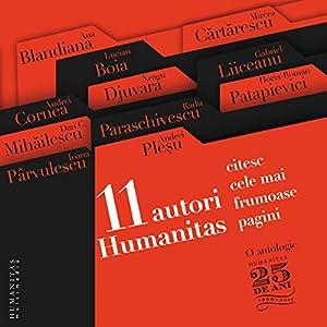 11 autori Humanitas citesc cele mai frumoase pagini Audiobook