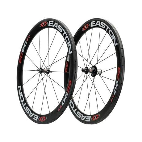 Easton EC90 56mm TT Tubular Road Bicycle Wheelset