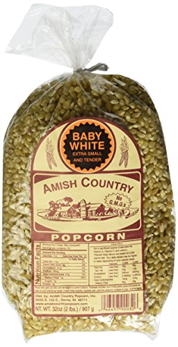 Baby White Amish Country Popcorn, 2-lb Bag (Amish Popcorn Butter compare prices)