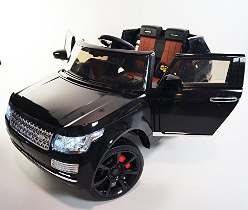 Exclusive Super Range Rover Jeep Style Kids Ride on Electric Car with RC,12V, 2x12v Motors, Lights, Doors, Music (Range Rover Baby compare prices)