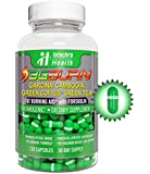 3G-BURN Extreme Fat Burner for Rapid Weight Loss - Pharmaceutical Grade Thermogenic Diet Pills Made with Garcina Cambogia, Green Coffee, Forskolin and Green Tea. 120 Capsules.