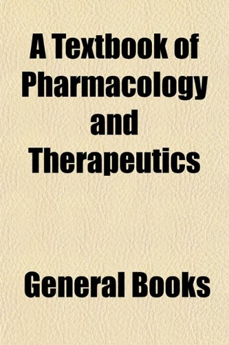 Textbook of Pharmacology and Therapeutics