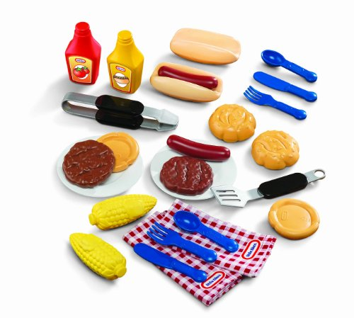 Little Tikes Backyard Barbeque Grillin' Goodies (Play Food For Grill compare prices)