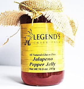Jalapeno Pepper Jelly - All-natural Gluten Free