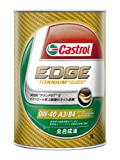 Castrol(カストロール) EDGE エッジ 0W-40 SN  [1L] TITANIUM チタンFST 4輪用エンジンオイル [HTRC3]