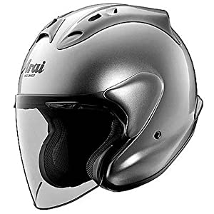 ARAI HELMET XC RAM ALUMINUM Silver MOTORCYCLE Open-Face-Helmet