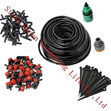 Generic 15M Water Kits : 4/7mm Hose Plant Watering Kits Garden Sprinkler System Outdoor Micro Drip Irrigation...