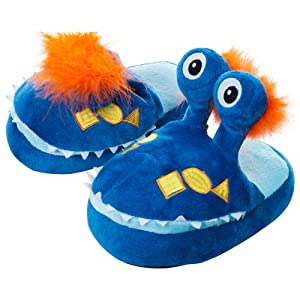 Silly Slippeez Monster Plush Slippers