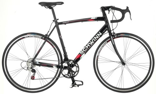 Cheapest Price! Schwinn Men's Phocus 1400 700C Drop Bar Road Bicycle, Black, 18-Inch