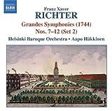 F.X.リヒター:6つの大交響曲集