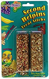 Second Helpins Parakeet Combo Honey Stick, 6-Ounce