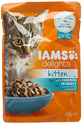 Iams Wet Cat Food Delights Meat and Fish in Gravy