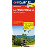 Nordschwarzwald - Karlsruhe - Pforzheim: Fahrradkarte. GPS-genau. 1:70000 (KOMPASS-Fahrradkarten Deutschland)