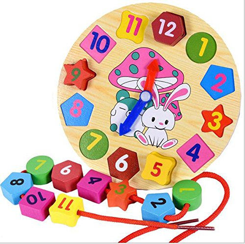 Anthonygift-wooden-colorful-digital-geometry-clock-blocks-bead-toys-cartoon-rabbit-children-Educational-toys-puzzle-blocks