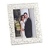 "Ecoleatherette Handcrafted Eco Friendly Sleek Regular Photo Frame 6""x8"" (Crackle 3001 )"
