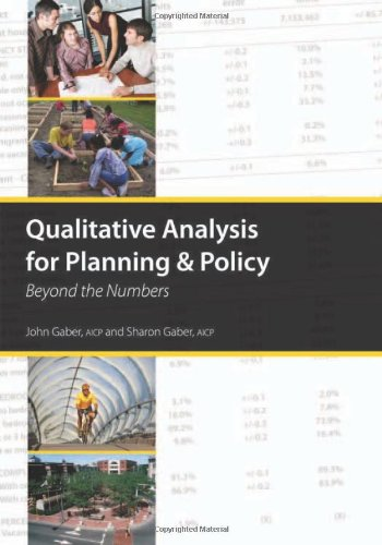 Qualitative Analysis for Planning & Policy: Beyond...