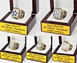 5pcs Dallas Cowboys Super Bowl World Champions Football Championship Ring Amazon.com