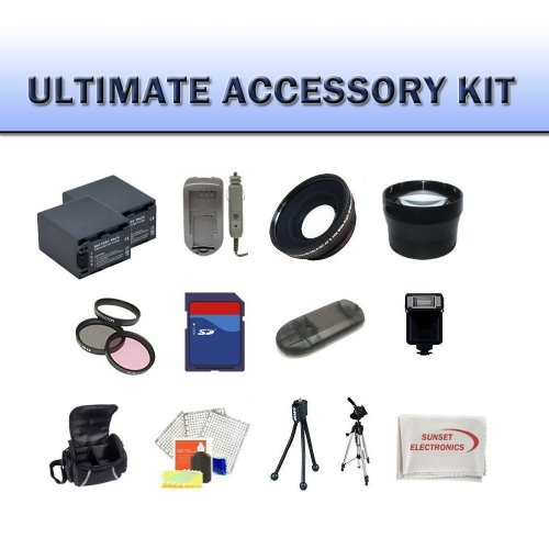 Huge Ultimate Accessory Kit for the HDR-CX160 HDR-CX560V HDR-XR160 Camcorders, the Kit Includes Lenses, Filters, 4gb Sd Memory Card, Battery, Carrying Case, Tripod, Flash Plus Much More!!