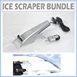 Heated Ice Scraper and Hot Key Set with Windshield Cover Protector for your Vehicle. ~ Princess