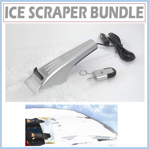 Heated Electric Windshield Ice Scraper