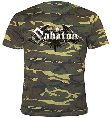 Sabaton Inmate 4859 T-Shirt mimetico L