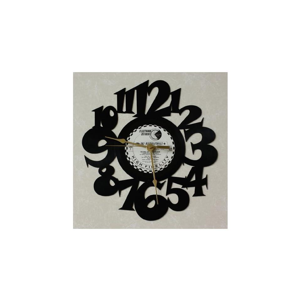 1963 WINTERNATIONALS ~ Recycled LP Vinyl Album/Record Wall Clock ~ Decorative Wall Art ~