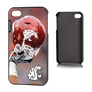 Buy NCAA Washington State Cougars iPhone 4 4S Slim Case by Keyscaper