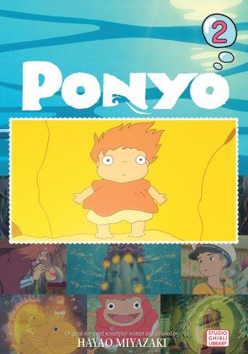 崖の上のポニョ コミック 2巻 (英語版)