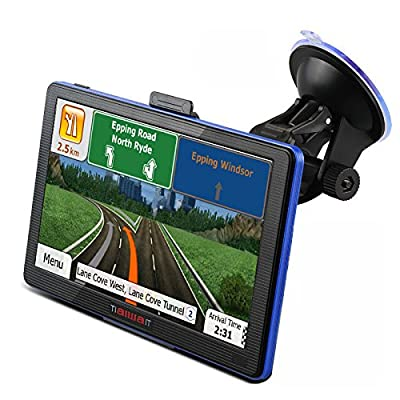 New 7 inch HD Car GPS Navigation FM 8GB/256M DDR/800MHZ 2015 Map Free Upgrade Russia/Belarus/Spain/ Europe/USA+Canada/Israel