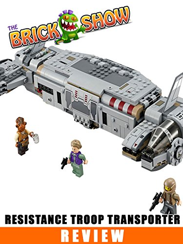 LEGO Star Wars The Force Awakens Resistance Troop Transporter Review (75140)