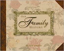Buy Our Family History: Record Book, Photograph Album & Family ...